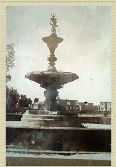 old fountain in bahawalpur