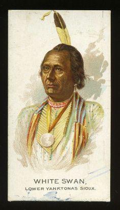 N2 Allen Ginter Indian Chiefs White Swan | eBay