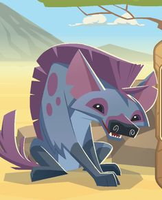 ...  with this update comes Animal Jam's newest animal, the Hyena, which is being sold for 10 diamonds in the Jamaa Township Diamond Shop. Description from animaljamspirit.blogspot.ca. I searched for this on bing.com/images