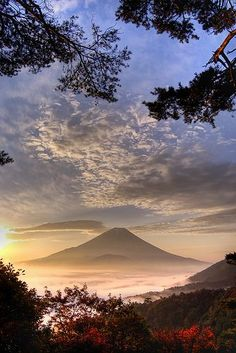"crescentmoon06: "" Sunrise in Mt. Fuji, Japan """