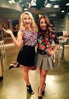 Emily Osment and Aimee Carrero