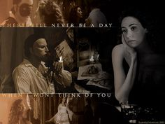 There will never be a day when I won't think of you - Phantom of the Opera Fantom Of The Opera, It's Over Now, Radio Usa, Opera Ghost, Gaston Leroux, Music Of The Night, Ramin Karimloo, Love Never Dies, Sing To Me