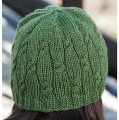 Ravelry: Knotted Rib Hat pattern by Cheryl Beckerich {free}