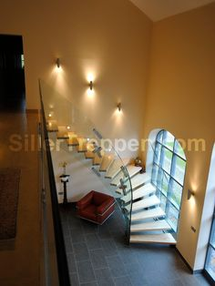 Modern Staircase Floating Staircase Design, Pictures, Remodel, Decor and Ideas - page 102