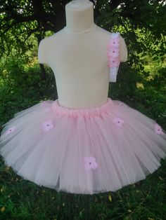 Flower girl tutu - pink tutu – baby tutu – girl tutu – birthday tutu – party tutu – tutu skirt – fluffy tutu – tutu skirt