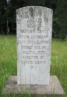"""John Jacob """"Jackie"""" Lentz (1777 - 1867) - Find A Grave Photos"""