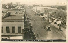 OK Blackwell Oklahoma Blackwell Avenue No 102 RPPC | eBay Family Memories, My Heritage, Old Pictures, Oklahoma, Worlds Largest, 1920s, Places To Go, Nostalgia, Childhood