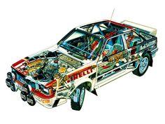 audi quattro - group 4 rally - type 85 - 1981-82
