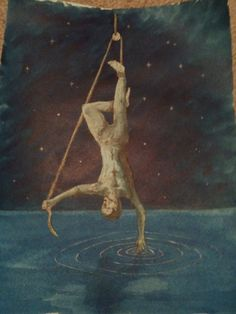 The Hanged Man by Paul Spudsonfire