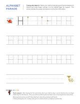 Uppercase H letter tracing worksheet, with easy-to-follow arrows showing the proper formation of the letter.