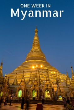 One week in Myanmar (Burma) is not enough! But you can cram in some up and coming destinations that should be on every travellers bucket list. Expat Getaways one week Myanmar itinerary shows you the major hotspots with some off the beaten path recommendations as well. Not to be missed!