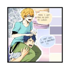 """""""!!!"""" by jocelove ❤ liked on Polyvore featuring art, yolo, free, iwatobi and reigisa"""
