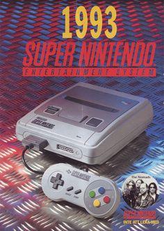 1993 Super Nintendo Entertainment System