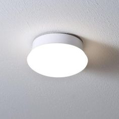 Commercial Electric 7 in. Bright White LED Ceiling Flush Mount Easy Light-54606241 - The Home Depot