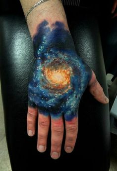 Cosmic Creations - Most Amazing Galactic Tattoos!