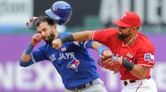 Really??! Rangers second baseman Rougned Odor to autograph items showing his punch to Joey Bautista for a fee.