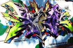 Graffiti at Alderley Water Tower3, via Flickr.