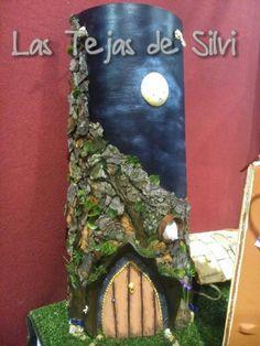 Noche de luna llena en el Bosc de les fades.