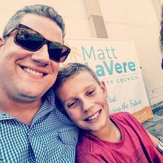 We out here for my boy @mattlavere running for Ventura City Council.  And so it begins!