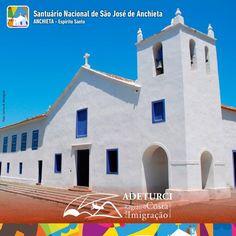 O Turismos Religioso ilumina a nossa alma de fé!!! Venha visitar o Santuário Nacional São José de Anchieta e mergulhe nessa história que encanta nossos corações.  Quer saber mais? Acessa aí: http://www.santuariodeanchieta.com/