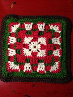 Ravelry: Project Gallery for Checkerboard Square pattern by Melissa Green