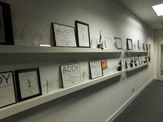 More recognition wall