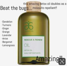 This is my new favorite! My skin looks amazing and zero mosquito bites! Arbonne Consultant, Independent Consultant, Arbonne Detox, Arbonne Nutrition, Arbonne Makeup, Arbonne Essentials, Arbonne Business, Lemongrass Oil, Skin Firming