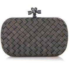 Bottega Veneta Knot metal-mesh clutch (€2.690) ❤ liked on Polyvore featuring bags, handbags, clutches, mesh handbags, bottega veneta handbags, metal mesh purse, woven purses and bottega veneta clutches