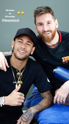 Messi and Neymar🔥💕 Neymar Barcelona, Barcelona Football, Messi And Neymar, Messi 10, Messi Shirt, Lionel Messi Family, Cr7 Junior, Neymar Jr Wallpapers, Leonel Messi