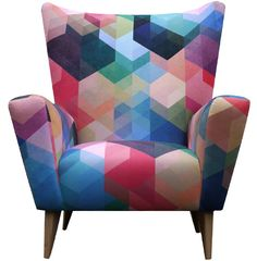 Simon C Page - Cuben Array Wingchair Limited Edition Chair