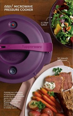 Tupperware Pressure Cooker -  even more magic in the Microwave Inspiration CAN be found EVERYWHERE!