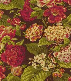 Waverly Upholstery Fabric-Hanover Cordial