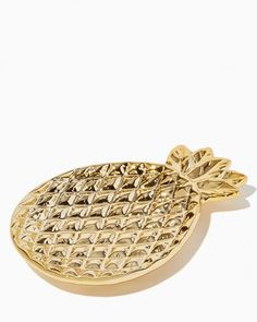 Gilded Pineapple Jewelry Dish | Charming Charlie