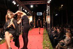 6ª edición de la Passarela de Moda al Carrer. Espectacular desfile en el que Crearte participó junto a Atelier de Beauté, salón colaborador de Crearte en Suiza.
