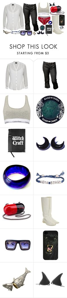 """""""Red, White, and Blue: Celebrate the Fourth 2"""" by brahski ❤ liked on Polyvore featuring City Chic, Five and Diamond, Calvin Klein, Hard Candy, Venessa Arizaga, Christian Louboutin, Pierre Hardy, Gasoline Glamour, fourthofjuly and thecovenseries"""