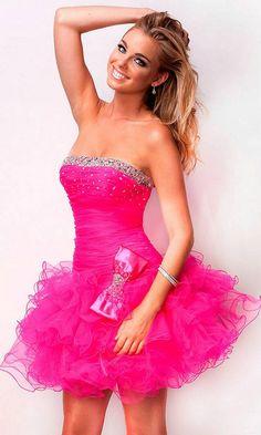 promerz.com pink-short-prom-dresses-23 #promdresses