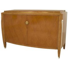 French Art Deco Two-Door Commode by Émile-Jacques Ruhlmann | From a unique collection of antique and modern commodes and chests of drawers at https://www.1stdibs.com/furniture/storage-case-pieces/commodes-chests-of-drawers/