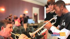 """""""Twelve high school jazz bands across the country from New Jersey to California and whole lot of places in between are practicing right now for their trip to the Savannah Music Festival's annual Swing Central Jazz competition in March..."""" - smfeducation.tumblr.com"""