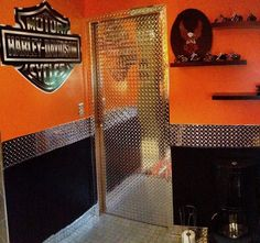 Harley Davidson Bathroom Decor Harely Garage Interior