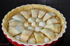 """Akacjowy blog. W podróży i w kuchni. : Normandzka tarta z jabłkami. Śladami operacji """"Overlord""""."""