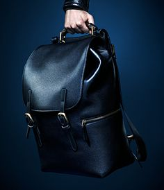 Gucci bamboo handle backpack - fall winter advertising