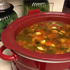 Meatless Monday: Slow-Cooker Minestrone