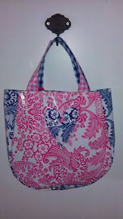 oilcloth bag for girls