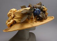 Woman's Hat  Made in Paris, France    1910
