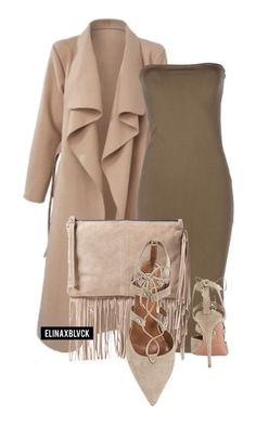 """""""Untitled #1350"""" by elinaxblack ❤ liked on Polyvore featuring Yves Saint Laurent, MANGO and Aquazzura"""
