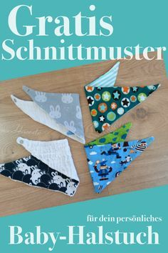 My sewing pattern for the ultimate baby bandana / free sewing instructions / fr ., My sewing pattern for the ultimate baby neckerchief / free sewing instructions / Freebook --------------- Free sewing pattern for babies from 0 - 18 m. Sewing Tutorials, Sewing Hacks, Sewing Projects, Sewing Patterns For Kids, Knitting Patterns, Pattern Sewing, Baby Tie, Baby Mittens, Diy Bebe