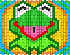 Kermit The Frog Kandi Pattern