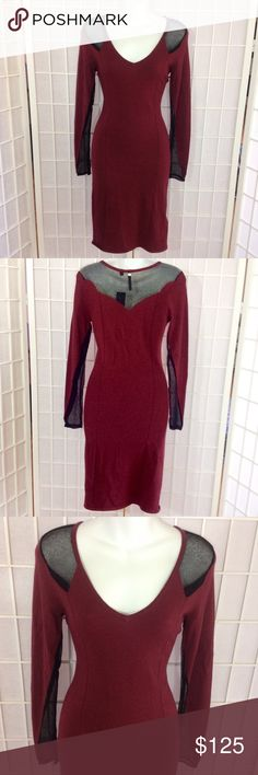 GUESS Burgundy Sweater Dress NWT CONDITION: NWT   CONCERNS: None   ⭐️ Feel free to ask questions or make an offer! ⭐️   Next Day Shipping! Sunday - Thursday  Guess Dresses Long Sleeve