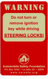 Steering Locks Warning Locks, Automobile, Foundation, Safety, How To Remove, Car, Security Guard, Door Latches, Foundation Series