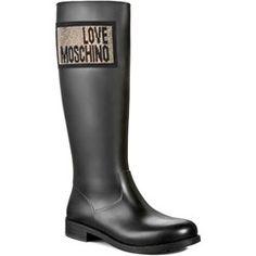 0889ece5691d8 Kalosze damskie Love Moschino - eobuwie.pl Lany, Hunter Boots, Rubber Rain  Boots